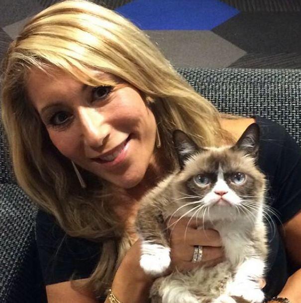 Grumpy Cat заработала 100 миллионов за 2 года (20 фото)