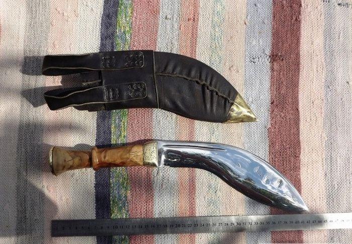 Непальский нож кукри своими руками