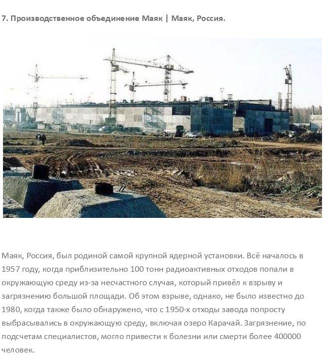Самые радиоактивные места на свете (25 фото)
