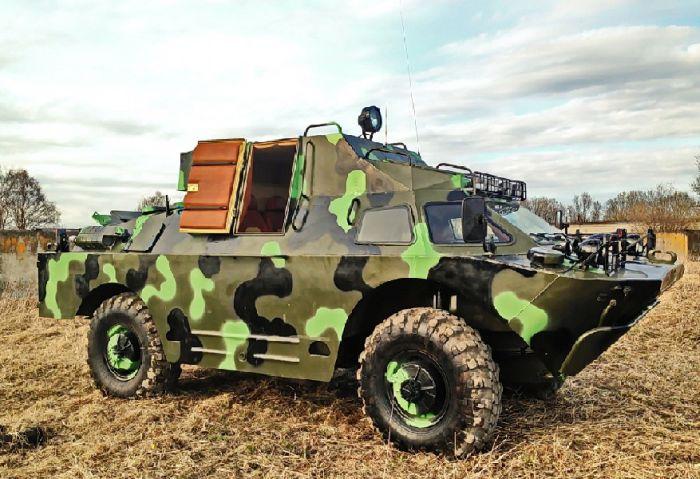 Тюнингованый броневик БРДМ-2 (14 фото)