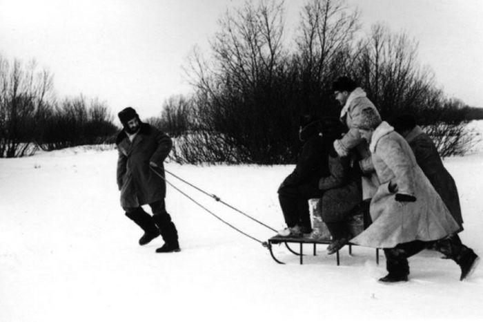 Неизвестные доселе фото советских знаменитостей (50 фото)