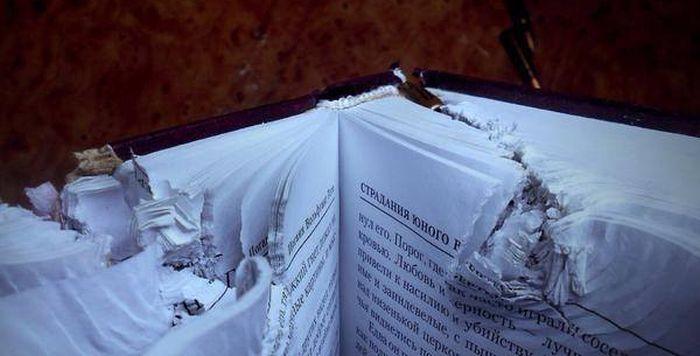 Как книга Гёте спасла жизнь солдату (3 фото)