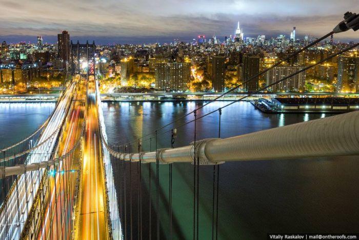 Увлекательная прогулка Нью-Йорскского руфера (45 фото)