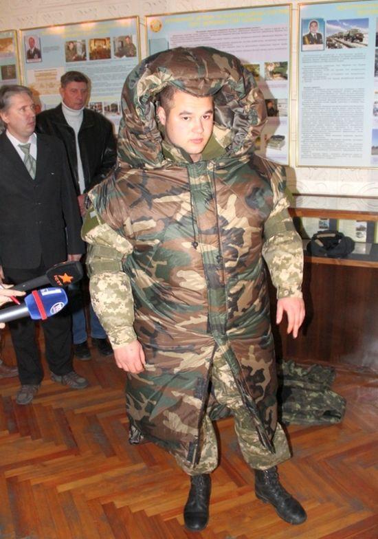 Многоцелевой бушлат для украинских солдат (3 фото)