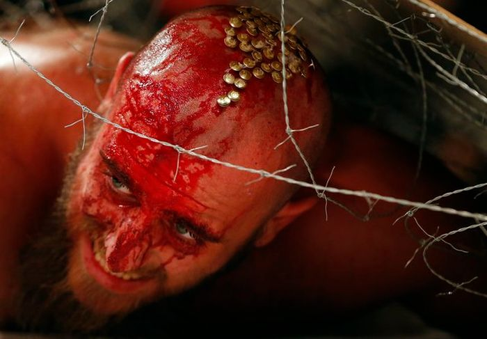 Кровавый реслинг по-венгерски (42 фото)