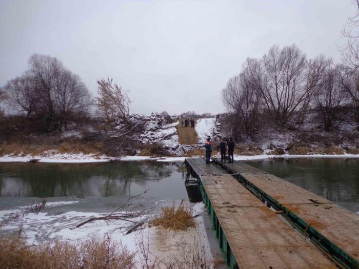 Мост смерти больше не угрожает жителям Орловской области (5 фото + видео)