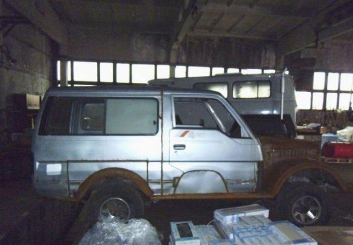 Уникальный внедорожник в стилистике ГАЗ-69 своими руками (39 фото)