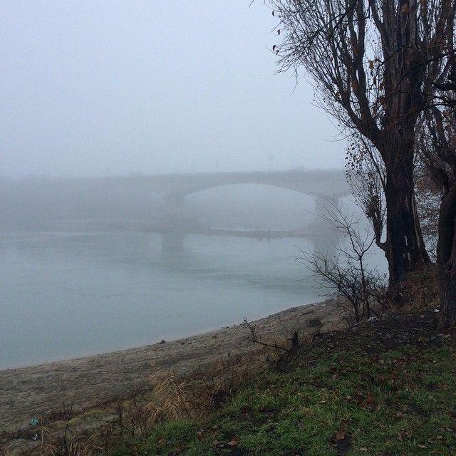 Густой туман превратил Краснодар в Сайлент-Хилл (17 фото)