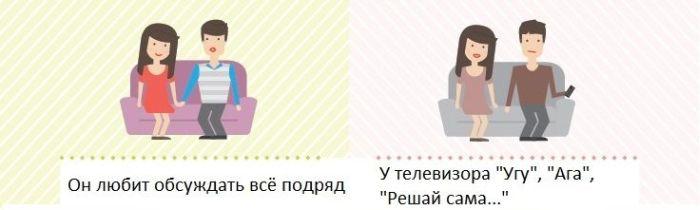 Изменения в отношениях до брака и после брака (7 картинок)