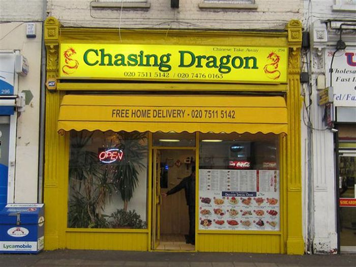 В Лондоне из-за антисанитарии закрыли китайский ресторан (6 фото)