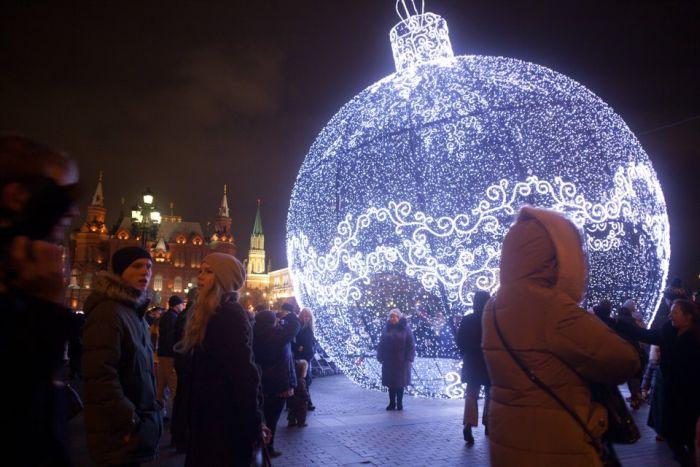 Новогодняя сказка в Москве (31 фото)