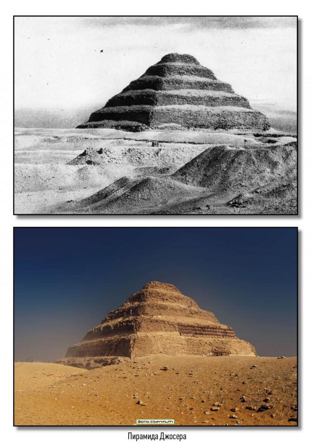 Древня египетская архитектура на фото разных лет (25 фото)