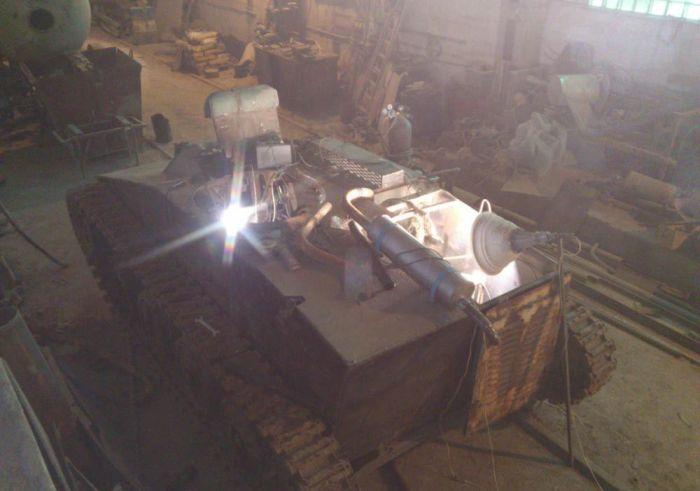 Легкий танк Т-60 своими руками (52 фото)