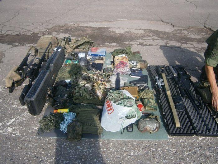 Полное снайперское снаряжение (2 фото)