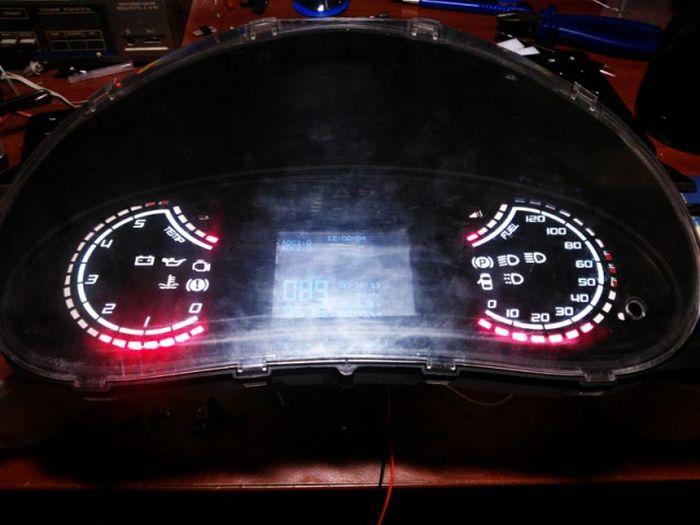 Самостоятельный тюнинг приборной панели ВАЗа (33 фото)
