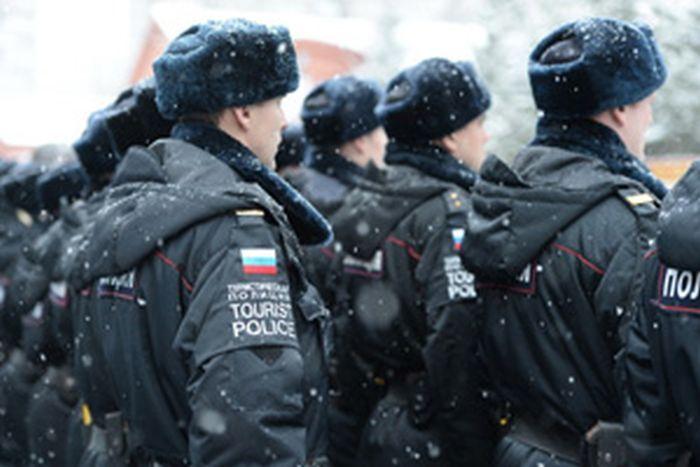 В Москве появился батальон «туристической полиции» (4 фото + видео)