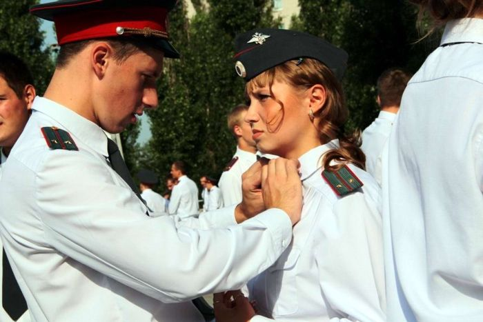 Какие девушки работают в российской полиции (40 фото)