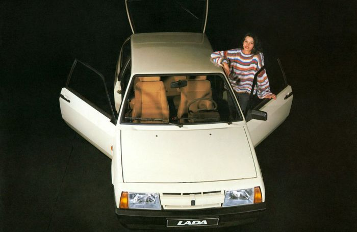 ВАЗ 2108 отметил свое 30-летие (61 фото)
