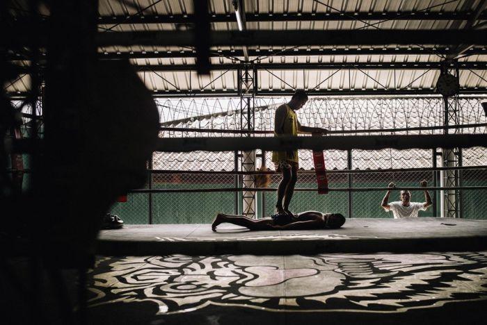 Тайский бокс дает заключенным шанс на досрочное освобождение (17 фото)