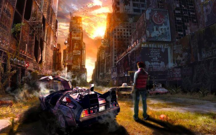 Сравнение реального 2015 года с событиями из «Назад в будущее» (36 фото)