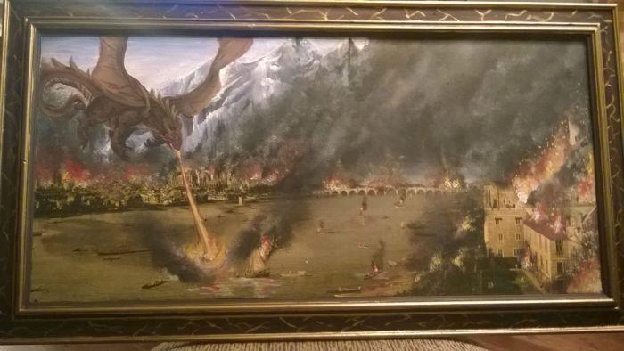 Подарочная картина для отца (3 фото)