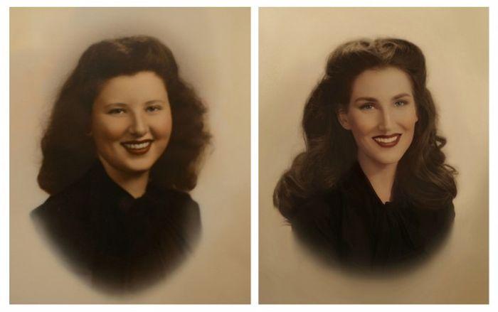 Семь поколений женщин одной семьи (7 фото)