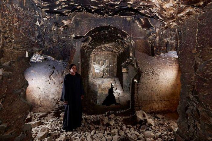 В Египте обнаружена гробница царя загробного мира Осириса (7 фото)