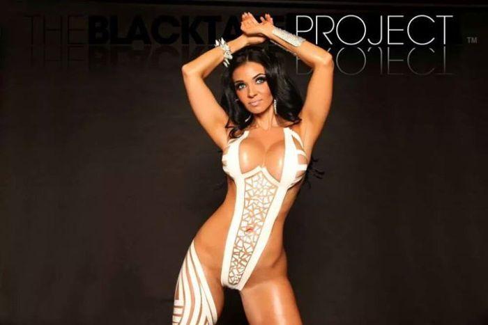 Смелый проект The Black Tape Project и его восхитительные участницы (46 фото)