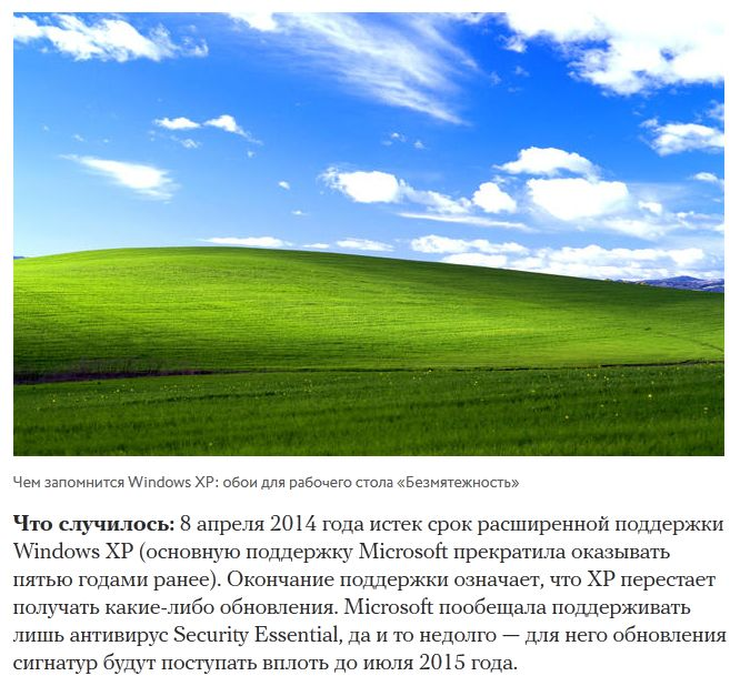 Электронные продукты, которых не стало в 2014 году (17 скриншотов)