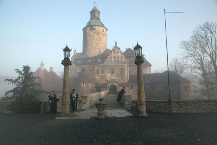 В польском замке Чоха открылась школа магии для фанатов Гарри Поттера (22 фото)