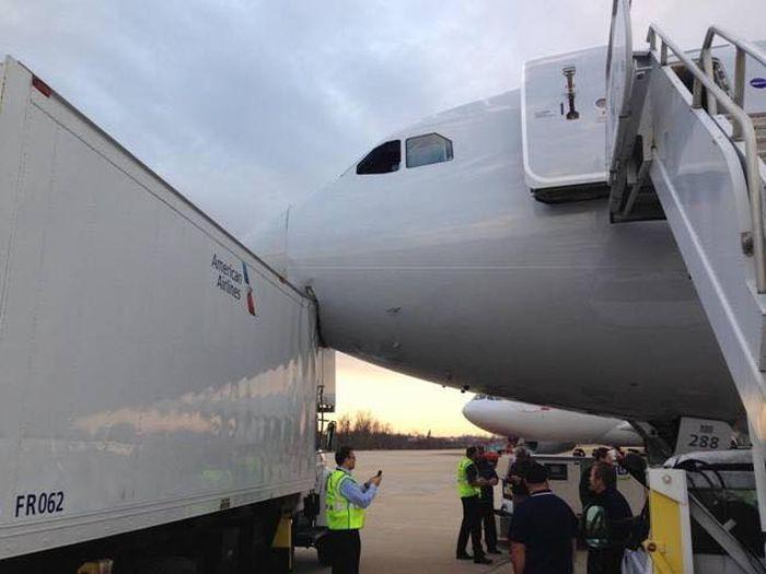 Водитель грузовика попал на 30 миллионов долларов (7 фото)