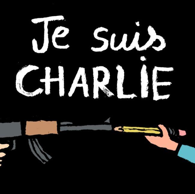 Реакция коллег убитых карикатуристов на действия террористов (28 рисунков)