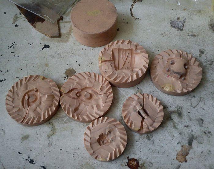 Фотоотчет о создании уникальных ножей маори (41 фото)