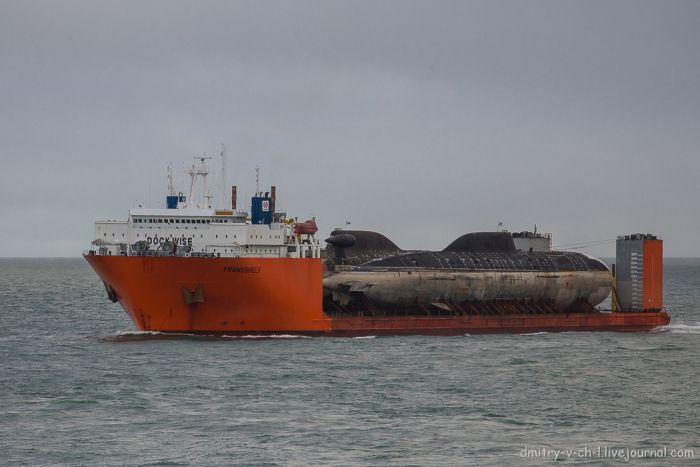 подводная лодка ледокол