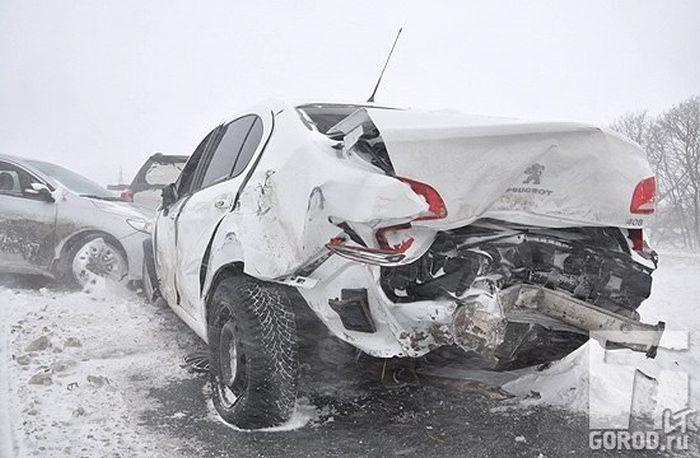 В Тольятти произошла авария с участием 24 машин (15 фото + видео)