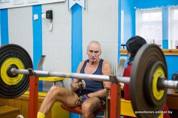 Виктор Ершов - самый спортивный пенсионер Белоруссии (18 фото)