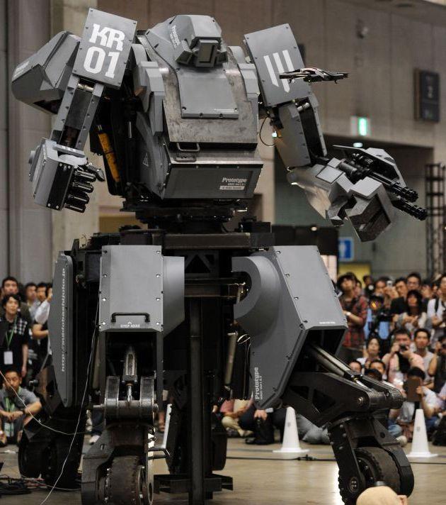 Механизированный костюмчик Kuratas вышел на рынок за один млн $ (19 фото)
