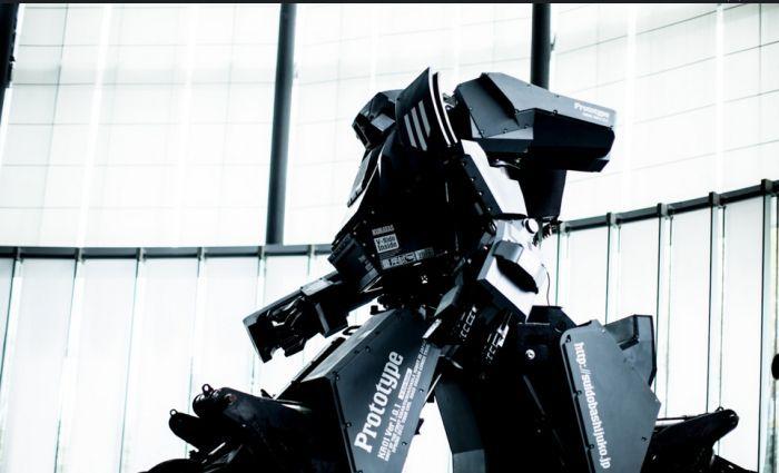 Роботизированный костюм Kuratas поступил в продажу за 1 млн $ (19 фото)