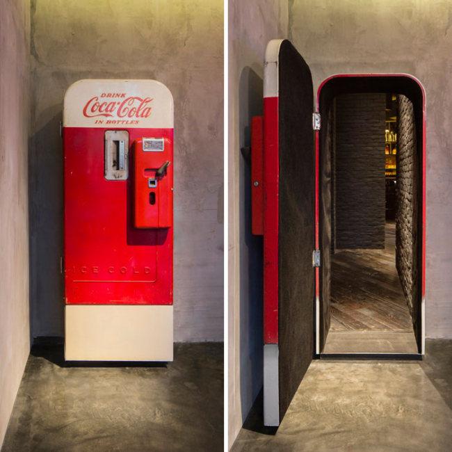 Догадайтесь, что скрывает за собой торговый автомат Coca-Cola? (9 фото)