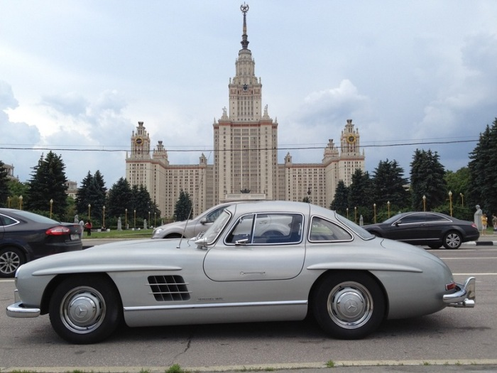 Как строилась легенда. Mercedes-Benz 300SL Gullwing (90 фото)