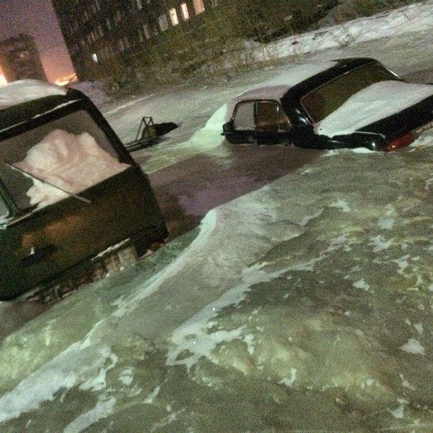 Чиновники Дудинки пытаются скрыть то, что в городе нет тепла (14 фото + видео)