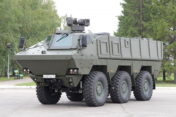 Rússia: Novo veículo blindado russo KAMAZ-63969 é avaliado
