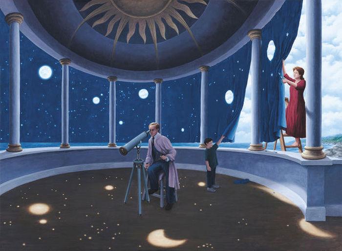 Удивительные оптические иллюзии от Роберта Гонсалвеса (46 фото)