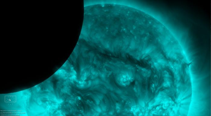 Обсерватория NASA сделала стомиллионное фото Солнца (12 фото)