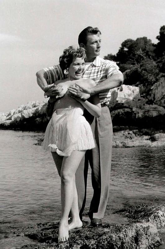 Суровые нравы 50-х или скандал в Каннах (6 фото)