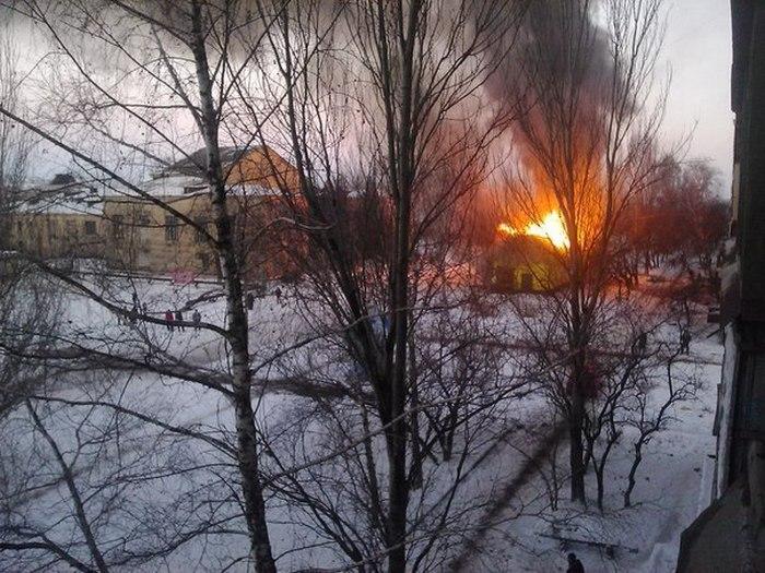 Ситуация в Донецке на фото (41 фото)