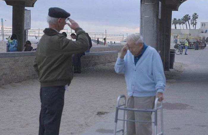 Благодарность ветерану, спасшему от страшной смерти (4 фото)