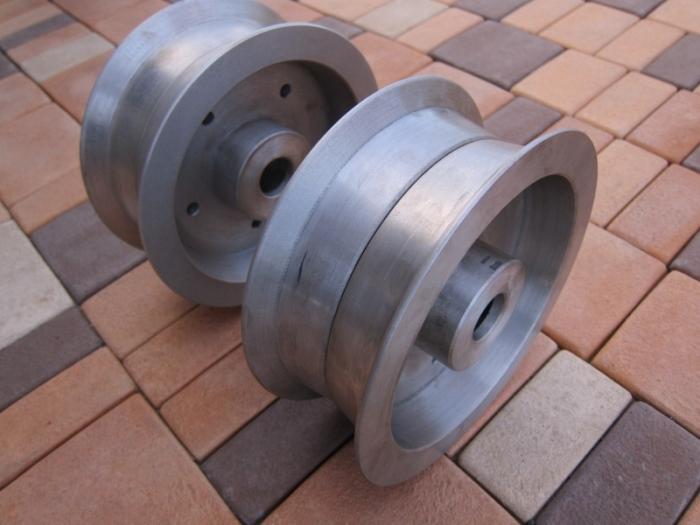 Самодельные литые диски из старых железяк (20 фото)