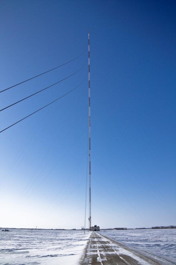 Телерадиомачта, которая дважды становилась самым высоким зданием в мире (9 фото)