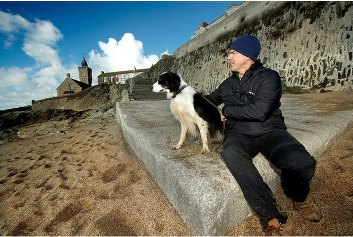 Чудесное возвращение пляжа в Великобритании (4 фото)